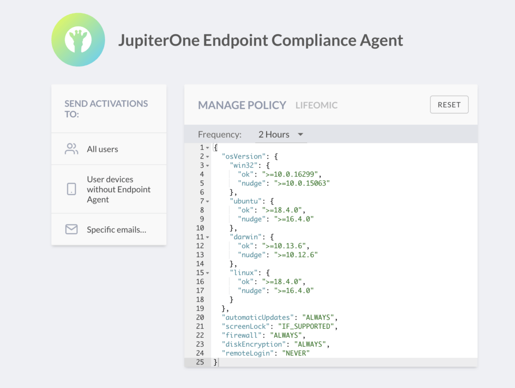 Use Case: SecOps Endpoint Compliance
